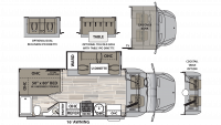 2019 Isata 3 24CBM Floor Plan