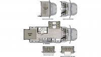 2019 Isata 3 24RWM Floor Plan