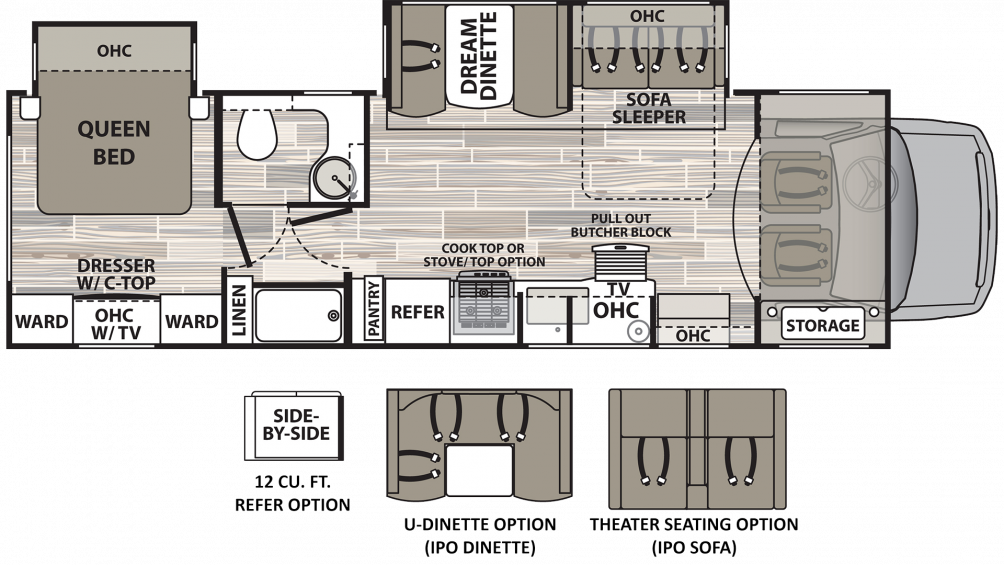 2019 Isata 4 31DS Floor Plan Img