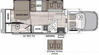 2019 Isata 5 30FWD Floor Plan