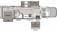 2019 Isata 5 36DSD4X4 Floor Plan