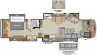 2019 Anthem 42DEQ Floor Plan