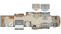 2019 Anthem 44W Floor Plan