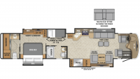 2019 Aspire 44R Floor Plan