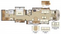 2019 Cornerstone 45A Floor Plan