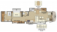 2019 Cornerstone 45B Floor Plan