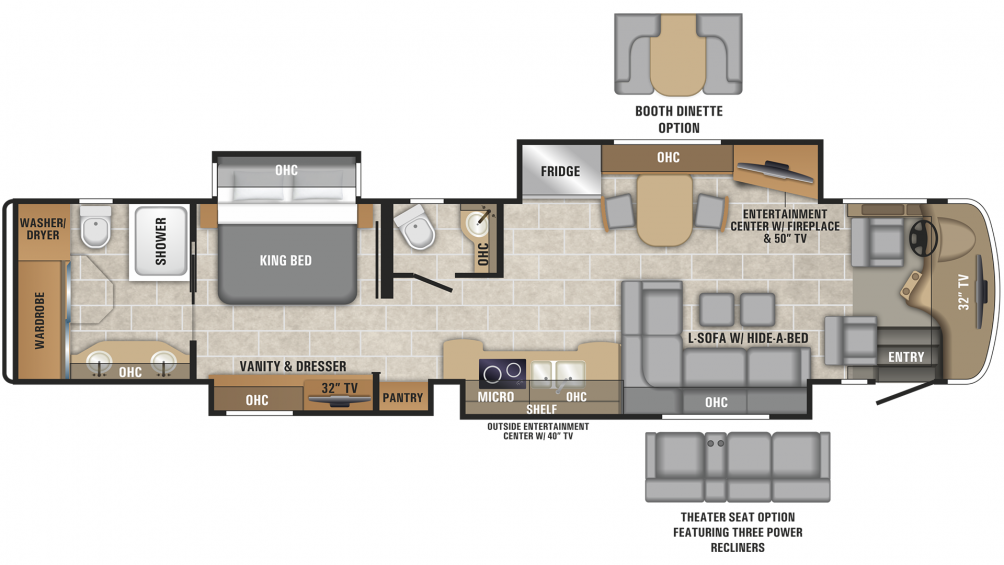 2019 Cornerstone 45B Floor Plan Img