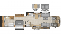 2019 Cornerstone 45W Floor Plan