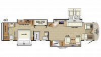 2019 Insignia 44R Floor Plan