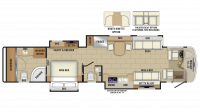 2019 Insignia 44W Floor Plan