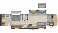 2019 Reatta 39T2 Floor Plan