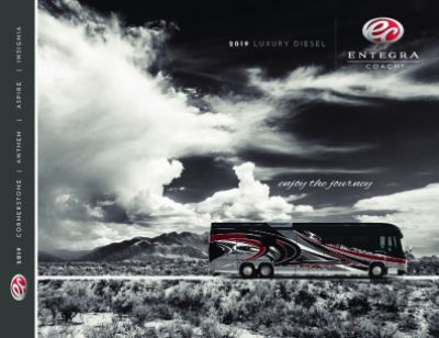 2019 Entegra Coach Cornerstone RV Brochure Cover
