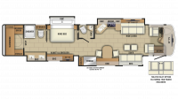 2019 Anthem 44F Floor Plan