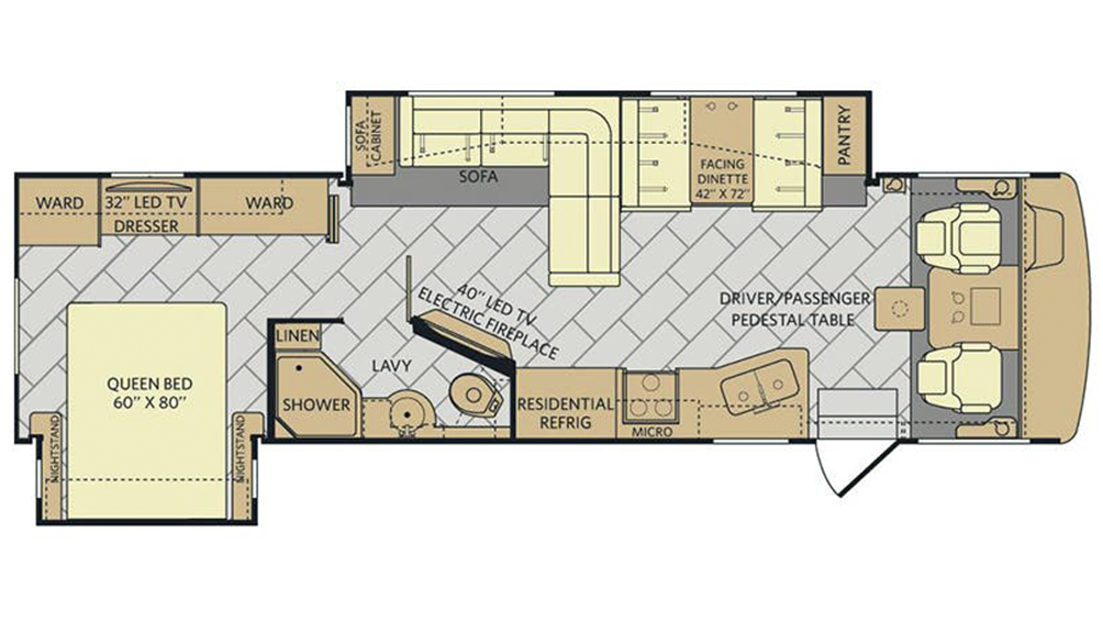 2017 Bounder 33c Floor Plan Img