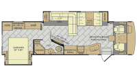 2017 Bounder 33c Floor Plan