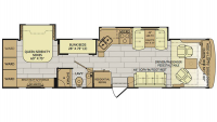 2018 Pace Arrow 35E Floor Plan