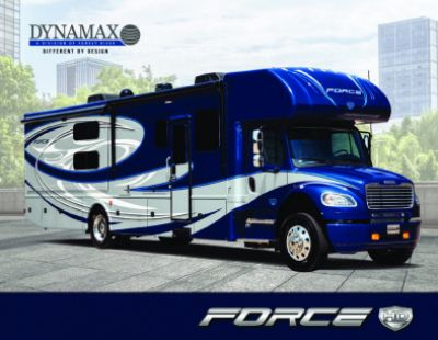 2019 Dynamax Corporation Force HD RV Brochure Cover