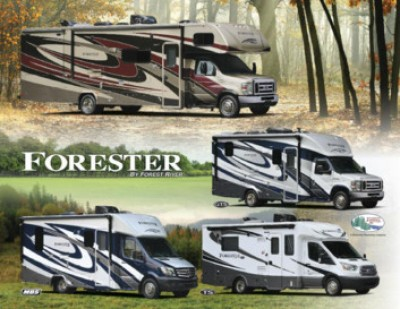 2017 Forest River Forester RV Brand Brochure Cover