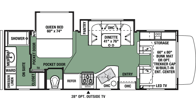2019 Forester 2421MS Floor Plan Img