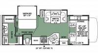 2019 Forester 2421MS Floor Plan