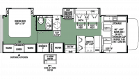 2019 Forester 2861DS CHEVY Floor Plan