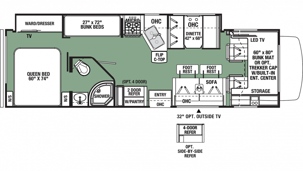2019 Forester 3271S Floor Plan Img
