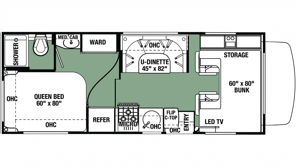 2019 Forester LE 2351 FORD Floor Plan Img