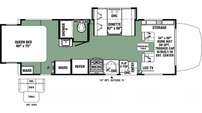 2019 Forester MBS 2401R Floor Plan Img