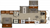 2019 FR3 30DS Floor Plan
