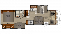 2019 FR3 32DS Floor Plan