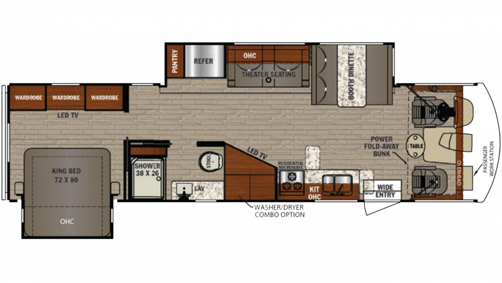 2019 FR3 33DS Floor Plan Img