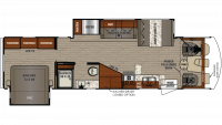 2019 FR3 33DS Floor Plan