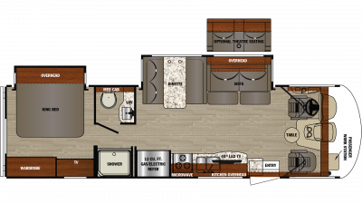2019 Georgetown 3 Series 30X3 Floor Plan Img