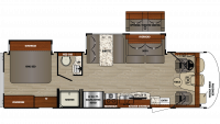 2019 Georgetown 3 Series 30X3 Floor Plan