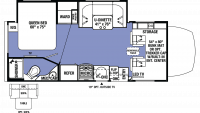 2019 Sunseeker MBS 2400W Floor Plan