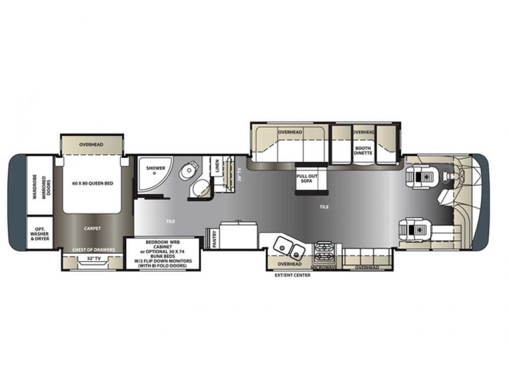 2014 Berkshire 400BH Floor Plan Img