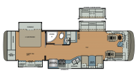 2019 Berkshire 34QS-360 Floor Plan