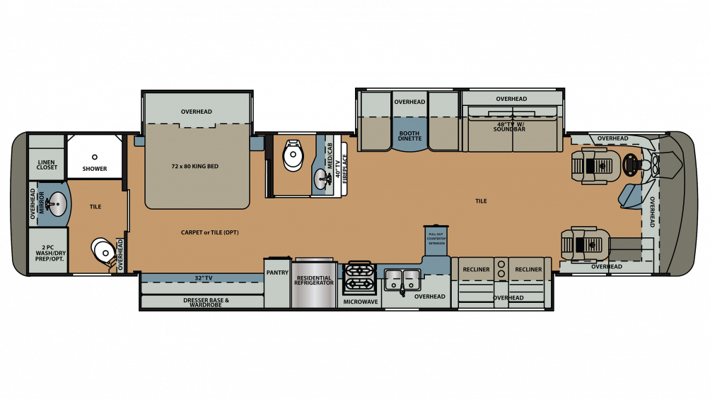 2019 Berkshire 39A-360 Floor Plan Img