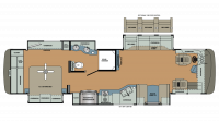 2019 Berkshire XL 37A-380 Floor Plan