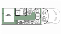 2019 Forester TS 2381D Floor Plan