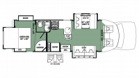 2019 Forester GTS 2801QS Floor Plan