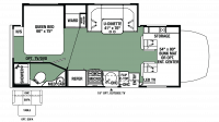 2019 Forester MBS 2401W Floor Plan