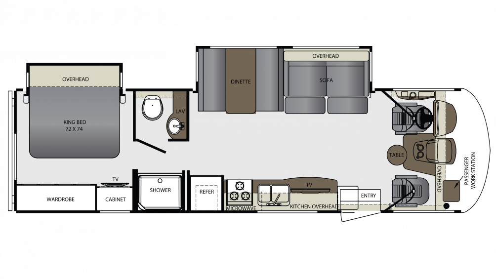 2018 Georgetown 3 Series 30X3 Floor Plan Img