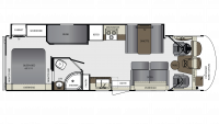 2019 Georgetown 3 Series 31B3 Floor Plan