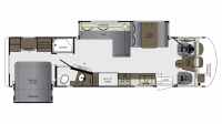 2019 Georgetown 5 Series 31L Floor Plan