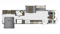 2019 Georgetown 5 Series 31R Floor Plan