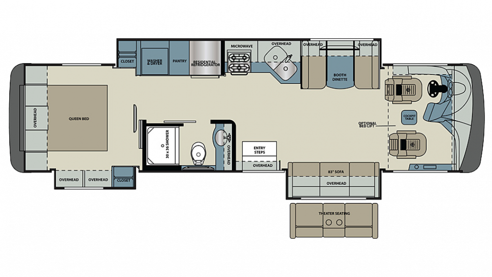 2019 Legacy 34A Floor Plan Img