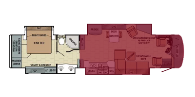Front Living Floor Plan