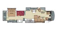 Full Bath Floor Plan