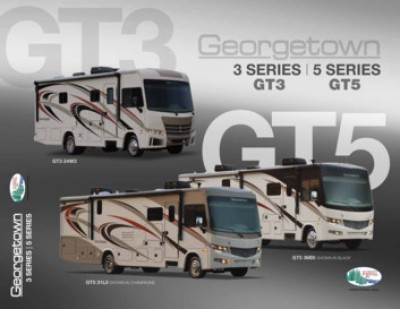 2017 Forest River Georgetown 3 Series RV Brand Brochure Cover